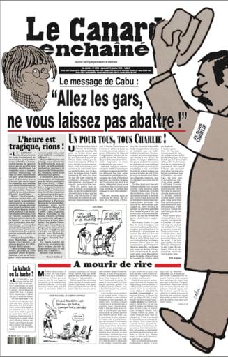O alta revista satirica franceza, amenintata: Angajatii, avertizati ca vor fi taiati cu toporul
