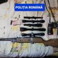 O armă letală și mai multe cartușe descoperite de polițiști la un bărbat din Ilfov