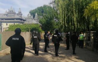 O armata de politisti a impanzit cartierul Vlasca din Fetesti. Ce cautau oamenii legii