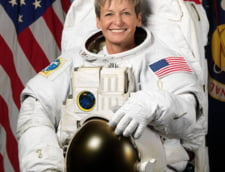 O astronauta americana a revenit pe Pamant dupa un timp record petrecut in spatiu