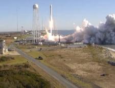 O capsula Cygnus care transporta provizii si experimente stiintifice, lansata spre Statia Spatiala Internationala (Video)