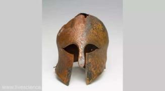 O casca militara elena, din perioada razboaielor greco-persane, descoperita in Israel