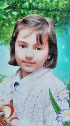 O cauta disperati pe Daria, fetita de 10 ani luata de ape la Dragutesti