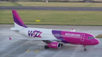 O cursa WizzAir a aterizat de urgenta pe Henri Coanda