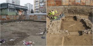 O descoperire arheologica unica la nord de Dunare a devenit focar de infectie, la Galati