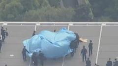 O drona radioactiva a aterizat pe acoperisul biroului premierului japonez (Video)