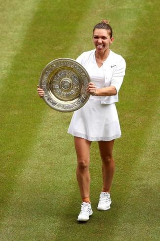 O dubla campioana de Mare Slem, la picioarele Simonei Halep, dupa triumful de la Wimbledon: A etalat un tenis de necrezut