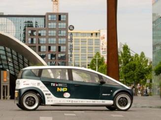 O echipa de studenti a creat o masina biodegradabila din zahar (Video)
