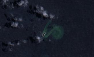 O eruptie vulcanica a scufundat o insula, dar a creat una de trei ori mai mare (Foto)