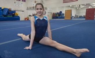 O fetita de 11 ani a uimit lumea gimnasticii desi nu poate vedea (Video)