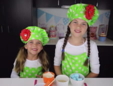 O fetita de 8 ani castiga peste 1,5 milioane de dolari din clipuri pe YouTube (Video)