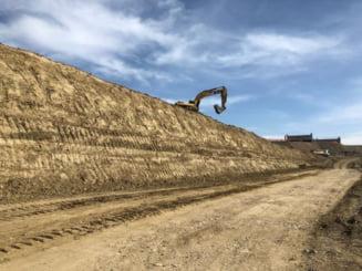O firma a oprit lucrul la Autostrada Sebes-Turda: Trebuie sa incasam deja 1 milion de euro. Am ramas fara materiale!