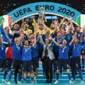 O fotografie care face istorie! Unde s-au pozat italienii Chiellini si Bonucci cu trofeul EURO 2020