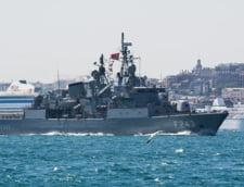 O fregata a Greciei si una a Turciei s-au ciocnit in Marea Egee, in timp ce navele turce escortau un vas de explorare de hidrocarburi