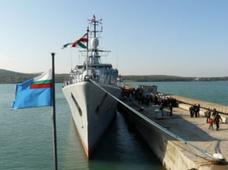 O fregata bulgara se va alatura misiunii NATO din Libia