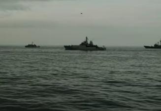 O fregata norvegiana care a participat la manevrele NATO s-a lovit cu un vas comercial