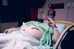 O gravida cu COVID-19 a murit la maternitatea din Galati. Tanara a facut un stop cardio-respirator dupa ce a nascut prin cezariana