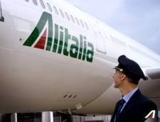 O greva Alitalia afecteaza traficul aerian din Europa: Peste 140 de zboruri anulate