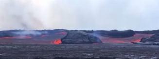 O insula s-a format in urma eruptiilor vulcanului din Hawaii