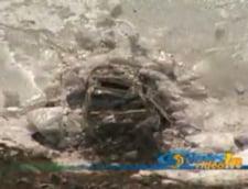 O masina a fost gasita in lacul de acumulare de la Siriu