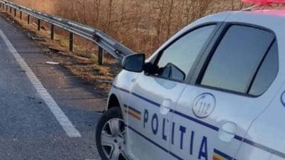 O masina de Politie s-a ciocnit cu un alt autovehicul, in Capitala. Un jandarm a fost ranit
