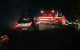 O masina s-a rasturnat pe Valea Sieului. Un adolescent a ajuns in spital