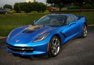 O masina unica, in editie limitata: Corvette Stingray (Galerie foto)