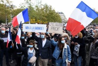 O moschee din Paris va fi inchisa, dupa ce a postat pe Facebook un video despre profesorul Samuel Paty inainte de crima