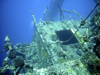 O nava cu fier vechi s-a scufundat in Marea Neagra