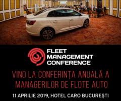O noua editie Fleet Management Conference are loc pe 11 aprilie la Hotel Caro Bucuresti