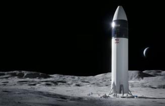O noua lovitura data de Elon Musk. SpaceX a castigat o licitatie de aproape trei miliarde de dolari organizata de NASA