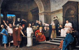 O noua lumina asupra razboiului Crestinismului contra paganismului: Izbanda lui Iisus in fata lui Pilat