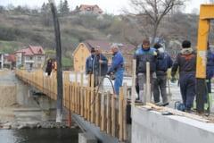 O noua promisiune pentru inaugurare: 1 mai - Podul Dragos Voda, in linie dreapta