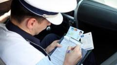 O noua serie de amenzi aplicata de politistii olteni