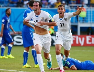 O noua surpriza la CM 2014: Italia, eliminata de Uruguay!
