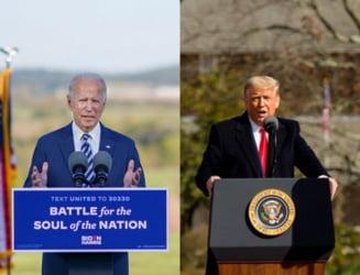 O noua tema de dezbateri in SUA: Joe Biden trebuie sa decida daca ii va transmite informatii secrete lui Donald Trump