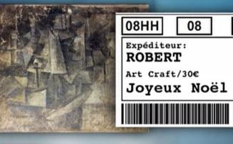 O panza de Picasso furata din Franta a fost gasita intr-un pachet postal