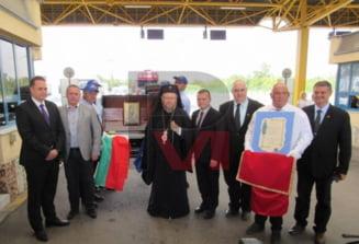 O parte din vesmintele Sfintei Cuvioase Parascheva au ajuns astazi la Ruse (FOTO)