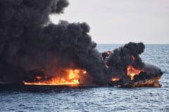 O pata de petrol de intinderea Parisului pluteste in Marea Chinei