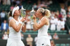 O pereche din Cehia a facut o dubla importanta in tenisul feminin, Roland Garros - Wimbledon