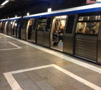 O persoana a fost lovita de metrou in statia Aparatorii Patriei UPDATE