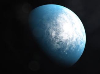 """O planeta de dimensiunea Pamantului se afla la distanta """"perfecta"""" de steaua sa pentru a gazdui viata"""