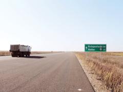 O portiune de 28 de kilometri din autostrada Nadlac-Arad a fost deschisa traficului