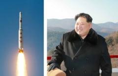 O racheta nord-coreeana a distrus accidental un complex industrial, in cursul unui test