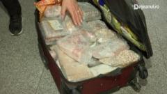 O romanca si-a umplut bagajul cu 42 de kg de bucate traditionale de Paste. Ce s-a intamplat pe aeroportul din Cluj