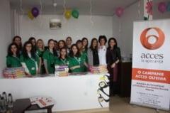 O sala de joaca pentru micutii pacienti de la Filantropia