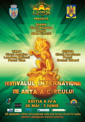 O saptamana de circ in Bucuresti - vezi unde se dau spectacole