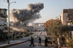 O scoala care gazduia refugiati a fost bombardata in Siria: mai multi civili au murit, majoritatea femei si copii