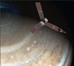 O sonda NASA a trecut peste Marea Pata Rosie, cea mai mare furtuna din sistemul nostru solar