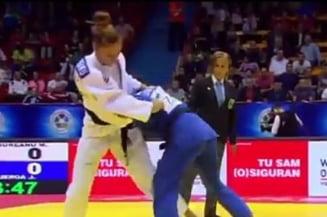 O sportiva din Romania a castigat medalia de bronz la Campioatele Europene de judo